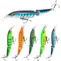 10. 5cm 9g Pike Minnow Fishing Lures Artificial Multi Jointed...