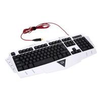 REDRAGON Einstellbare Eingabegeschwindigkeit USB-kabelgebundene wasserfeste Gaming-Tastatur Sieben umschaltbare Hintergrundbeleuchtung färbt Makroaufnahme