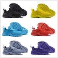 Venta caliente 2018 Presto 5 Ultra BR QS Negro Blanco / Amarillo / Púrpura / Rojo / Gris Zapatos para correr para Mujeres Hombres Top Prestos Casual Sports Sneakers 36-46