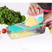 Atacado Multifuncional Cortadores de Legumes Cortador de Picador Ralador de Alimentos Recipiente Aparelhos de Cozinha