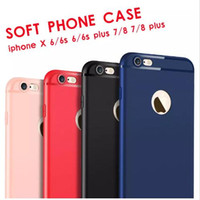 Slim Soft TPU Silicone Case Cover Candy Colors Matte Phone C...