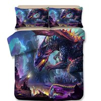 3D Dinosaur Bedding Set Cartoon Duvet Covers High Quality Pi...
