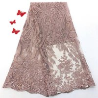 New Design High Quality Nigerian 3d Flowers Lace Fabrics 201...