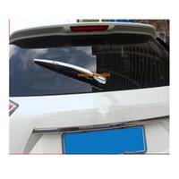 Per Nissan X-trail xtrail T32 / Rogue 2014 2015 2016 trim ABS cromato posteriore auto tergicristallo tergicristallo copertura della finestra di coda telaio 3 pz