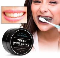 치아 미백 분말 자연 대나무 활성 숯 미소 파우더 오염 제거 치아 노란색 얼룩 대나무 치약 구강 케어 CZ17