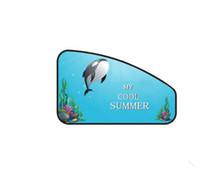 Cortina de la cortina de la sombrilla magnética del automóvil Ventana lateral Cortina de la sombrilla Protector solar ajustable protegido de la luz solar y la ballena de rayos UV