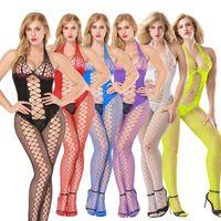 Sexy Dessous Frauen Erotische Dessous Heiße Sex Produkte Sexy Kostüme Farbe Unterwäsche Slips Fishnet Intimates Kleid Nachtwäsche Drop Ship