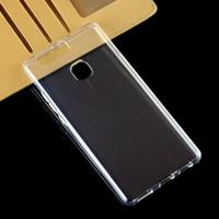 2pcs ultra delgado transparente claro TPU cubierta suave para Huawei P9 P9 Lite P9 Plus caja del teléfono