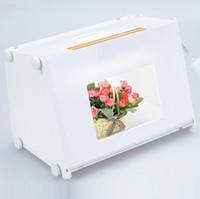 5500LUX 110V-250V 410 * 300 * 290mm SANOTO MK40 tragbaren Mini-LED-Licht-Boom Foto Fotografie Studio Light Box Softbox