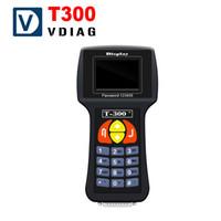 Strumenti di programmazione chiave dell'automobile T300 Inglese / Spagnolo T300 programmatore chiave chiave transponder chiave dhl spedizione gratuita