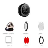 Caméra IP WiFi P2P sans fil C6 HD 720P Vision Nuit Mini caméra Portable Détection de mouvement Mini DV DVR avec clip magnétique