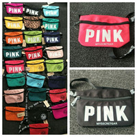 24 color pink waist bag fanny pack bags for women pink beach...