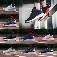 2017 NMD Runner R2 Mesh Triple White Black Blue Pink Green M...