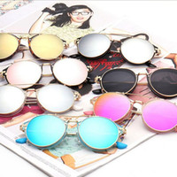Vintage Steampunk Sunglasses Round Women Retro Sunglasses Pl...
