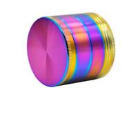 50MM çinko alaşımı tabaka dört parlak mavi TÜTÜN TAŞLAMA kırık duman detektörü çapı