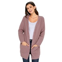Designer Sweater Coat Cardigan Women Clothes Knitted Thick L...