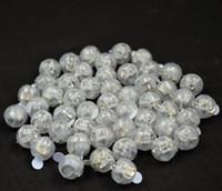Forma redonda ballon lâmpada, mini bola LED Balloon luz para lanterna de Papel decoração de festa de natal de casamento lin3770