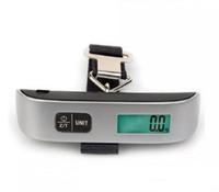 Mini Digital scala dei bagagli a mano Held LCD pensili elettronica Bilancia elettronica termometro scala 50kg di pesata SN542 dispositivo