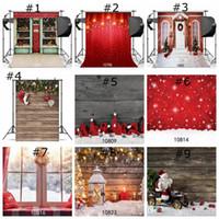 Boże Narodzenie backdrops for fotografii Snowflake Microfiber Photo Background Red Photo Booth Backdrop Home Decor Wallpapers na Boże Narodzenie
