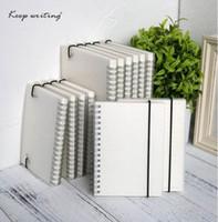 A5 A6 Spiral libro bobina Cuaderno To-Do alineado DOT cuadrícula en blanco Diario de papel Diario Sketchbook para útiles escolares papelería tienda