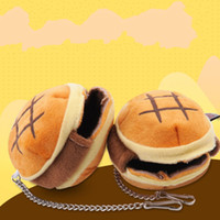 Hamster hamburger nid petit animal passe hiver garder au chaud dessin animé pain chambre de couchage Hut Portable accrochage petit sac animaux fournitures 3 8jn bb