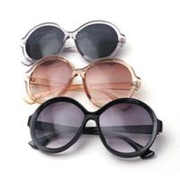 0fe63cc8ac MARC UV400 MUJERES 2018NEW Gafas Gafas de Sol Diseñador Oculos Resina Sol  Plástico Gris Gradiente Ovalado