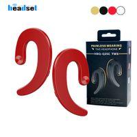 HBQ originale Q25C TWS Q25 Cordless Bluetooth Wireless Headphones Cuffie auricolari senza fili impermeabili auricolare conduzione ossea Auricolari