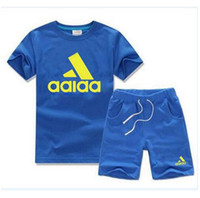 AD Brand Kids Sets 2- 7T Children T- shirts And Short Pant Kid...