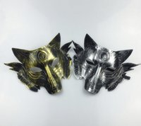 2018 Hot sales Party Wolf Mask Halloween Masquerade Party Ma...