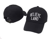 ACREDITE a TERRA Boné de Beisebol dos EUA Moda 2018 Snapback Hip hop Cap Homens HEYBIG Curva viseira 6 painel pai chapéu casquette de marque