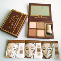 New Makeup COCOA Contour Kit 4 Colors Bronzers Highlighters ...