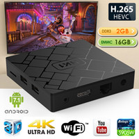 HK1 Android 7.1 TV Box Amlogic S905W Quad Core 2 Go Ram 16 Go Rom Smart Media Player Support 2.4G Wifi