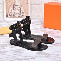 2018 Luxury Designer Shoes Women Sandals Geunine Leather For...
