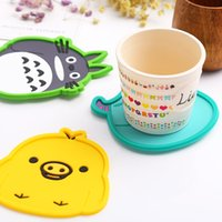Antiskid Cup Mat , coasterl , Cute Animal cushion, Continent...