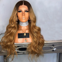 New Sexy 180% Density 1B 27 Body Wave Heat Resistant Hair Sy...