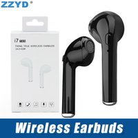 ZZYD i7 TWS Twins Wireless Earbuds Earphone Mini Bluetooth V...