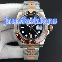 Fully automatic men' s fashion watches bi- rose gold stai...