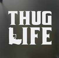Etiqueta engomada CA-362 del coche del ordenador portátil de la moda de la hormona del estilo masculino de Thug Life