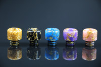 Colorful TFV8 Baby Drip Tip Epoxy Resin Replacement Dripper ...