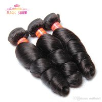 Indian Loose Wave Virgin Hair 3 bundles 10A Unprocessed Huma...