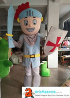 adult funny knight mascot costume Custom Made Mascots for Ad...