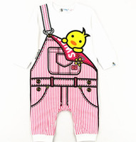 hot sale baby cotton jumpsuits Children Spring New born long...