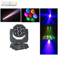 Zita Beleuchtung Bühnenbeleuchtung 7 * 15W LED Moving Head Lichtstrahl RGBW 4IN1 DMX 512 Wedding Party DJ Effektbeleuchtung Tanz Disco LED-Licht