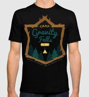 Gravity Falls T- shirt, Cartoon Tee, Men' s Women' s ...