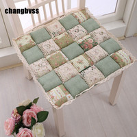 Pastoral Joint 42x42cm Chair Cushion Mat, 11 Colors House Sea...
