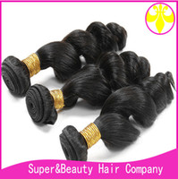 100% remy hair virgin loose wave brazil hair 3 bundles
