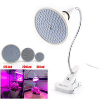 60 126 200 Led Grow Lampadina 360 Clip porta lampada flessibile per vegetale Flower Growing Indoor idroponica serra