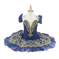 Envío gratis falda de tutú de ballet de color verde para niños vestido de ballet profesional disfraces de baile para niños BT9067B