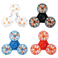 4 Colors Flying Fidget Spinner Mini Rechargeable Automatic R...