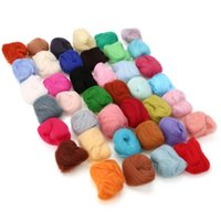 3g 40 Colors Soft Merino Felting Wool Tops Roving Wool Fibre...